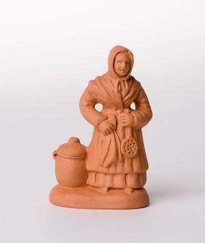 Santon La femme aux limaçons