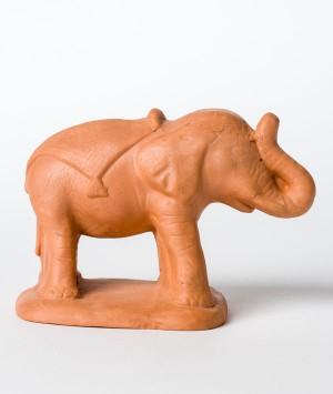 Santon à peindre L'éléphant