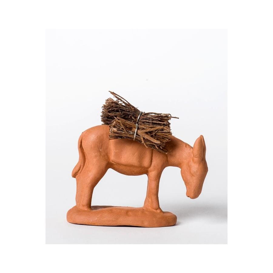 Santonà peindre L'âne aux fagot
