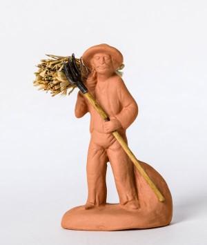 Santon le ramasseur de foin